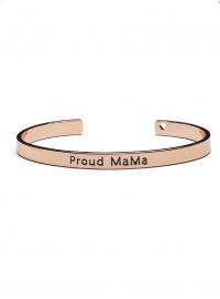 Proud MaMa Bangle Bracelet, rosé