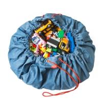 Play&Go Spielzeugtasche, Jeans