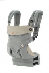 Ergobaby Babytrage, 360° 4-Positionen, Grey / Taupe