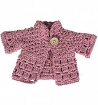 Sebra Puppenkleidung, Jacke, Pink