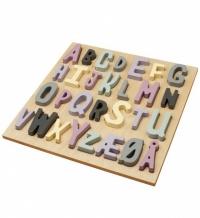 Sebra Hölzernes Puzzle ABC, Mädchen