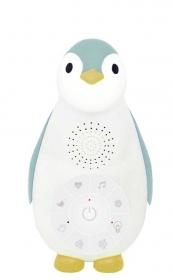 ZAZU Pinguin Musikbox mit Nachtlicht, Mint