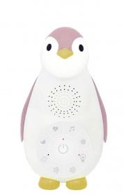 ZAZU Pinguin Musikbox mit Nachtlicht, Rosa