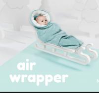 Aeromoov Air Wrap Einschlagdecke für Autositz, Mint