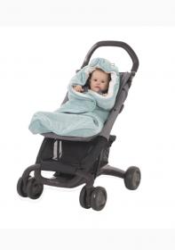 Aeromoov Air Wrap Einschlagdecke für Kinderwagen, Mint