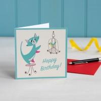 Geburtstagskarte Cats Life