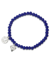 Proud MaMa Armband, Diamond, Cobalt