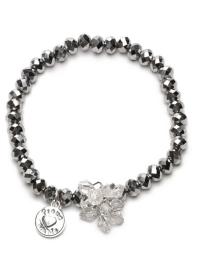 Proud MaMa Armband, Charm, Silber Beads