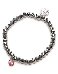 Proud MaMa Armband, Charm, Silber Rosa