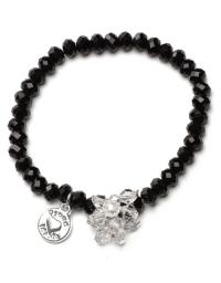Proud MaMa Armband, Charm, Schwarz Beads