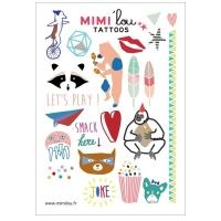 MIMIlou Kinder-Tattoos, Lets Play