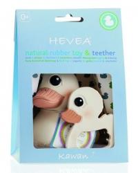 HEVEA Kawan Bundle, Badespielzeug + Beissring