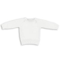 Babys Only Pullover, Bio-Baumwolle, Weiss