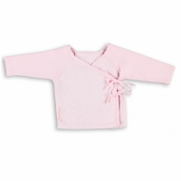 Babys Only Wickel-Strickjacke, Bio-Baumwolle, Rosa