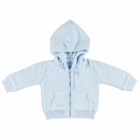 Babys Only Kapuzenjacke, Bio-Baumwolle, Blau
