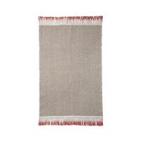 Ferm Living Teppich mit Farbverlauf, Dip Mat Rust, 60 x 100 cm