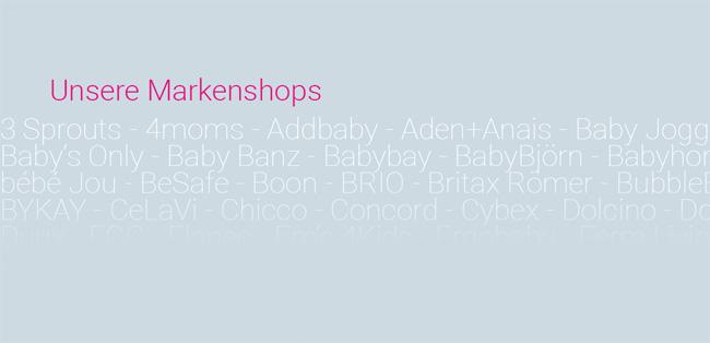 Alle Produkte ausgewählter Marken an einem Ort